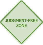 judgement-free-zone-sign