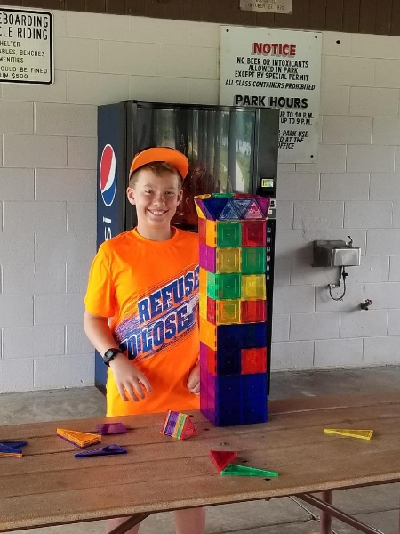 Another proud tower builder