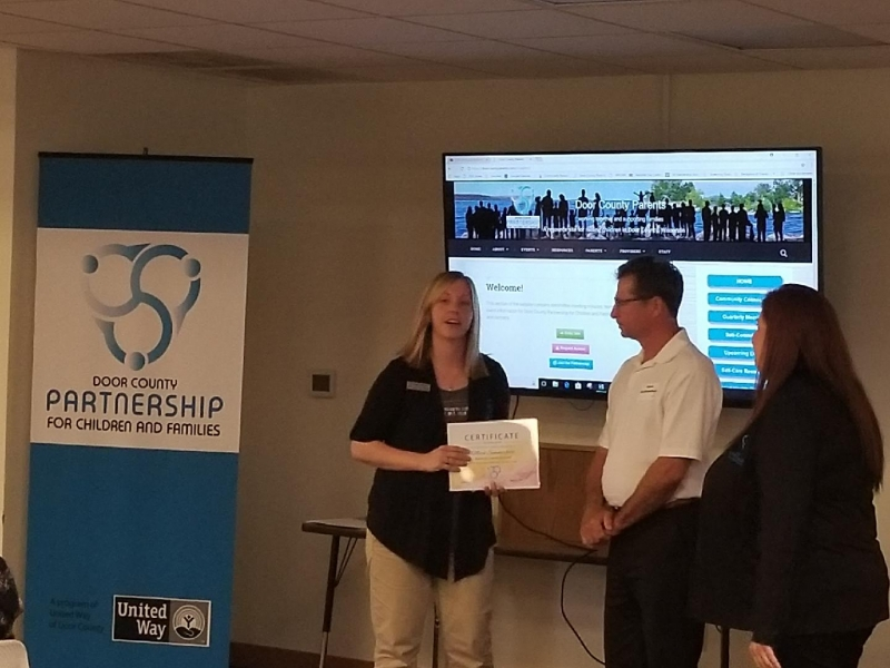 Presentation of the 2018 Business of the Year award