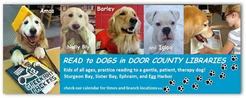 Read To A 4 Legged Listener Barley Or Igloo Door County Parents