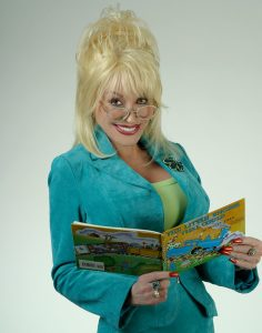 dolly-holding-book