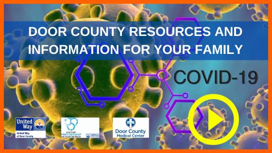 Door County COVID19 resources